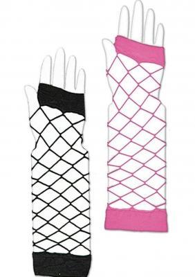 K84250152-3 pink Damen Netz Handstulpe Riesen Netz - 1