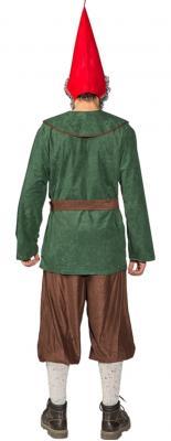 O7013 grün-braun Herren Zwergen Kostüm Robin Hood Jäger Bauer - 2