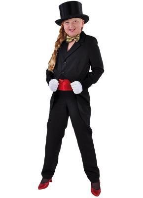 M205013-2 schwarz Kinder Frack Zirkus Kostüm - 2