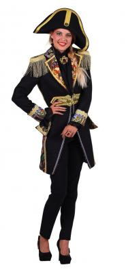 T2695-0199 schwarz-bunt Damen Uniform Jacke Amok - 1