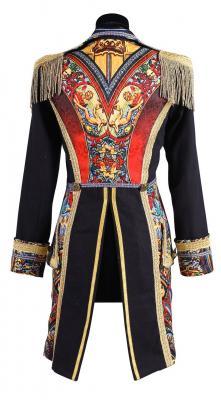 T2695-0199 schwarz-bunt Damen Uniform Jacke Amok - 2