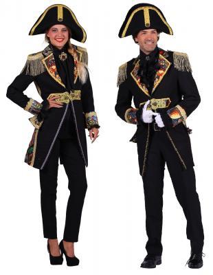 T2695-0199 schwarz-bunt Damen Uniform Jacke Amok - 3
