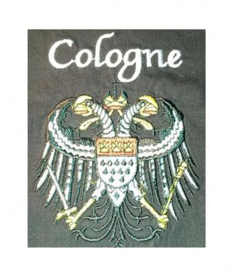 Ma242893 schwarz-kurzarm Köln Hemd Kölnhemd Kölnkostüm Kölnartikel - 2