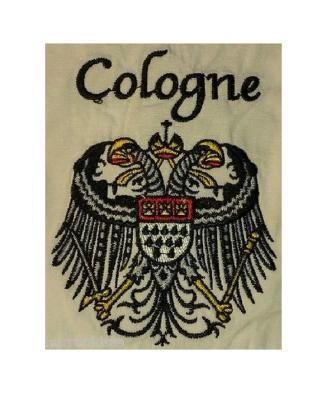 Ma242886 weiß-kurzarm Köln Hemd Kölnhemd Kölnkostüm Kölnartikel - 1