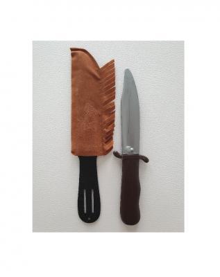 O27120 braun Herren Indianer Messer - 1
