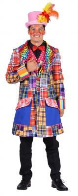 T2944 mehrfarbig Herren Clown Jacke - 1