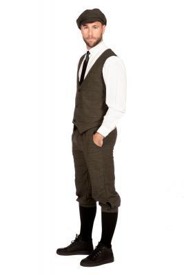 W3303770+O22546 dunkelgrau Herren 1920 er Jahre Mann Kostüm Arthur - 1