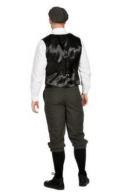 W3303770+O22546 dunkelgrau Herren 1920 er Jahre Mann Kostüm Arthur - 2