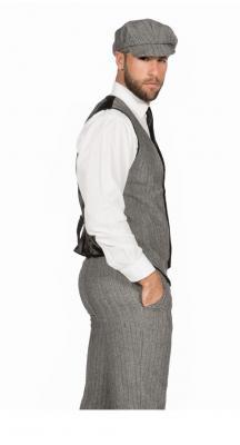 W3303860+O22546 grau Herren 1920 er Jahre Mann Kostüm Finn - 1