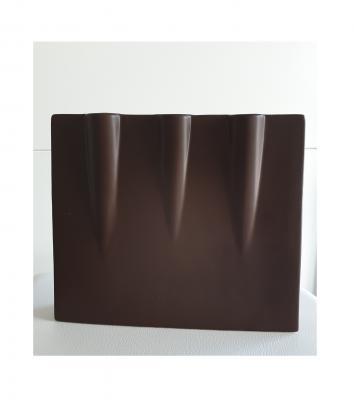 La5 braun Keramik Vase La Vida Geschenkartikel - 1