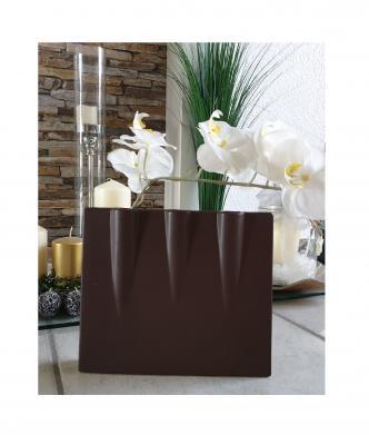 La5 braun Keramik Vase La Vida Geschenkartikel - 2