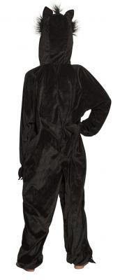 B88066 schwarz Kinder Damen Herren Katzen Kostüm - 2