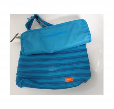Gi550306 türkis Kinder Damen Herren Reißverschluss Tasche Zip-it - 1