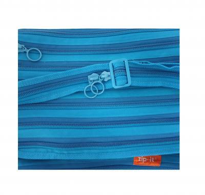 Gi550306 türkis Kinder Damen Herren Reißverschluss Tasche Zip-it - 2
