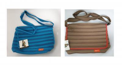 Gi550313 khaki-orange Kinder Damen Herren Reißverschluss Tasche Zip-it - 1