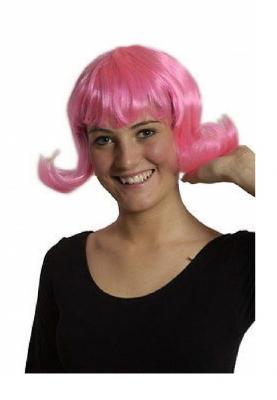 11274703 pink Damenperücke Partykleid Partykostüm - 1