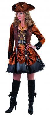 M215170 Damen Steampunk Piraten Kostüm - 1