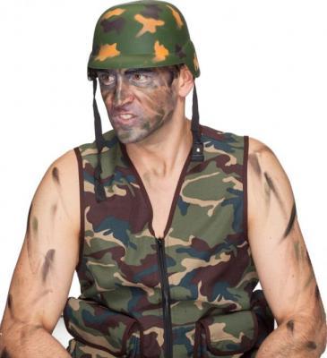 O23665 Kinder und Erwachsene camouflage Helm Soldatenhelm - 1