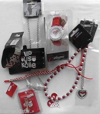 Ma229085 weiß Köln Armband mit Clown Clownkopf - 2