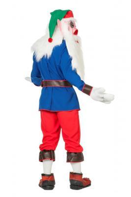 O5149 mehrfarbig Herren Gnom Kostüm Wichtelkostüm - 2