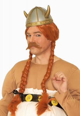 K40121163 silber-goldfarbig Kinder Damen Herren Wikinger Helm - 1