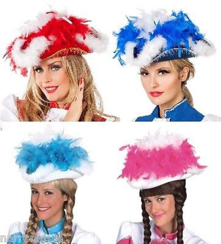 Funken Hut Mini Kostüm Garde Tanz Mariechen Uniform