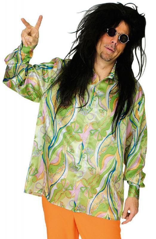 70er 80er jahre hemd party kost m hippiehemd herren hippie. Black Bedroom Furniture Sets. Home Design Ideas