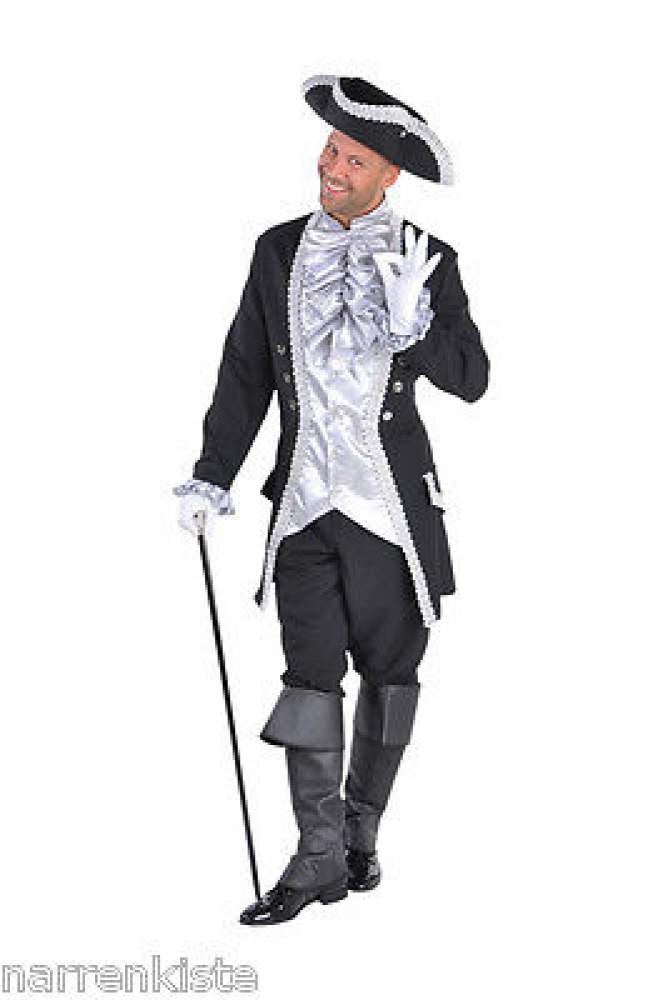 M212242 8 M A bordeaux rot Herren Rokoko Barock Kostüm Baron
