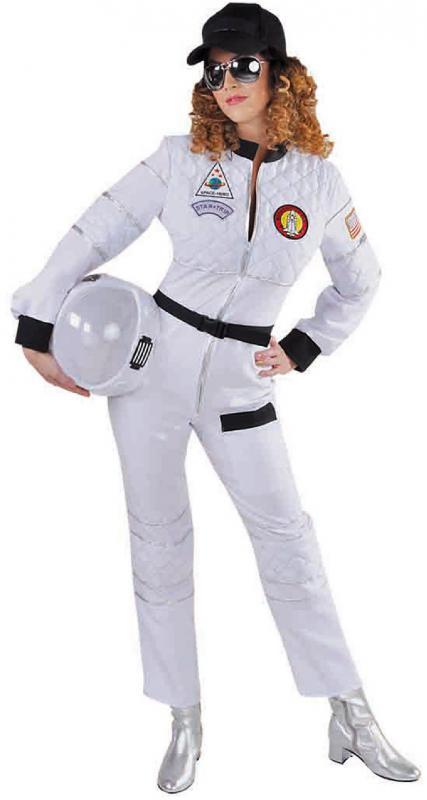 astronaut astronautenkost m raumanzug spaceman kost m overall anzug damen helm ebay. Black Bedroom Furniture Sets. Home Design Ideas