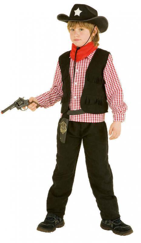 cowboykost m cowboy weste wilder westen western kost m junge kinder indianer hut ebay
