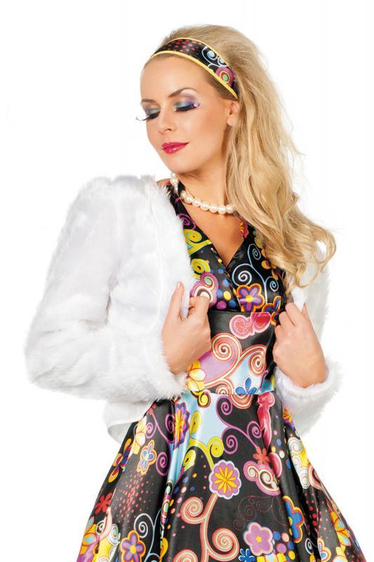 8b6dc3760f57db 50er Jahre Kleid Kostüm Rock n Roll Petticoat Damen Disco Rockabilly ...
