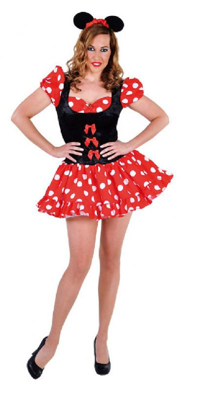 micky mickey minny minni minnie maus mouse disnay kleid kost m damen kinder baby ebay. Black Bedroom Furniture Sets. Home Design Ideas