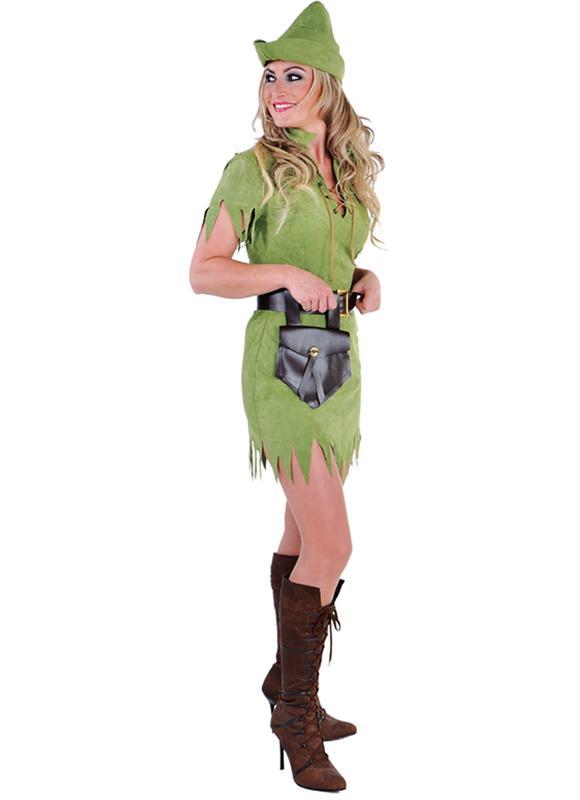 Robin Hood Peter Pan Jager Girl Kostum Kleid Damen Mittelalter