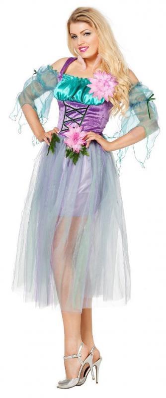 Feen Fee Elfe Tinkerbell Märchenfee Kostüm Kleid Elfen Damen Waldfee