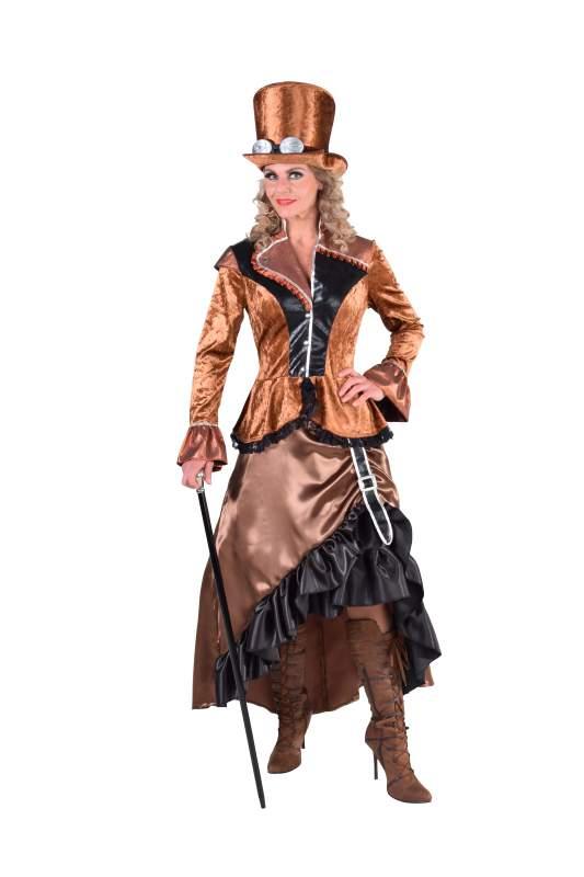 Steampunk Viktorianisch Barock Rokoko Kostüm Kleid Burlesque ...