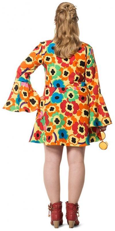 70er 80er jahre kleid kost m flowerpower damen hippie hippy hippiekost m party l3201152 grosse. Black Bedroom Furniture Sets. Home Design Ideas