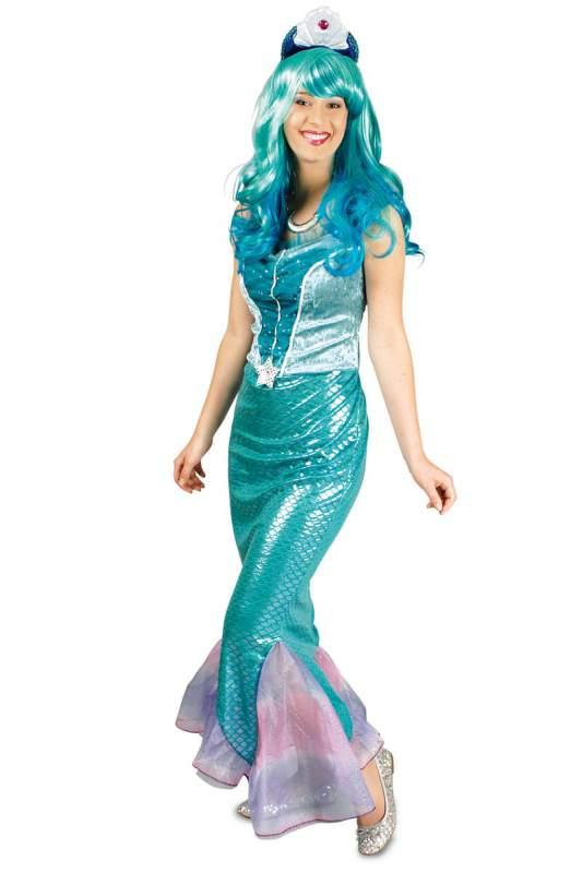 fisch ariel nixe meerjungfrau kost m arielle prinzessin wasser fee kleid mermaid ebay. Black Bedroom Furniture Sets. Home Design Ideas