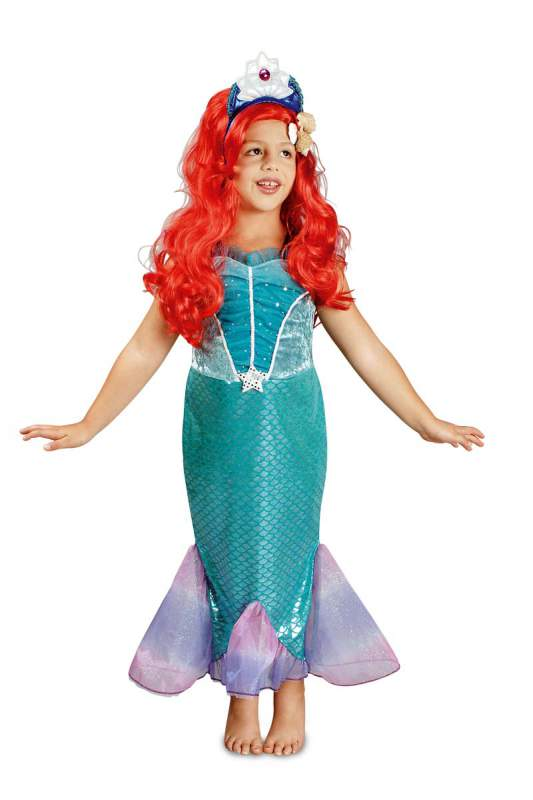 fisch ariel nixe meerjungfrau kost m arielle prinzessin wasser fee kleid mermaid ebay. Black Bedroom Furniture Sets. Home Design Ideas