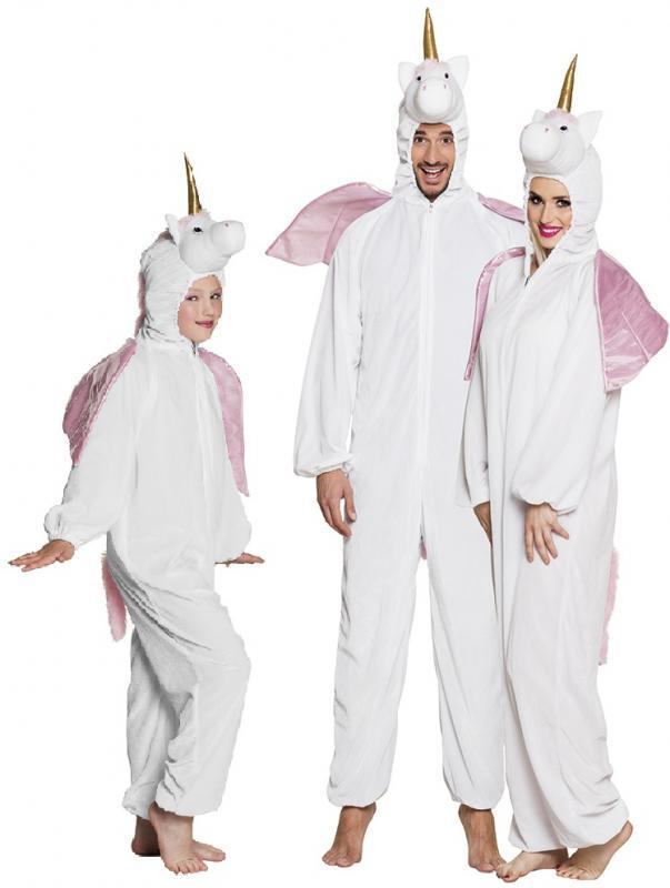 Einhorn Einhornkostum Pony Rosa Weste Plusch Kostum Tier