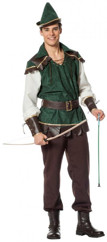 Robin Hood Peter Pan Jäger Girl Kostüm Kleid Mittelalter Damen