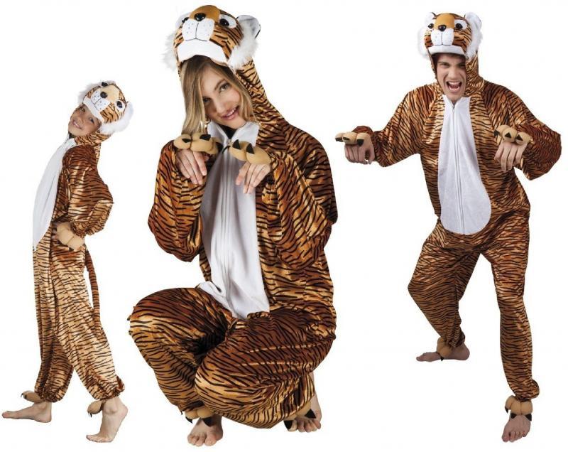 tigerkost m l we l wen lion kost m overall pl sch tier tiger leopard katze l win b88018 tiger. Black Bedroom Furniture Sets. Home Design Ideas