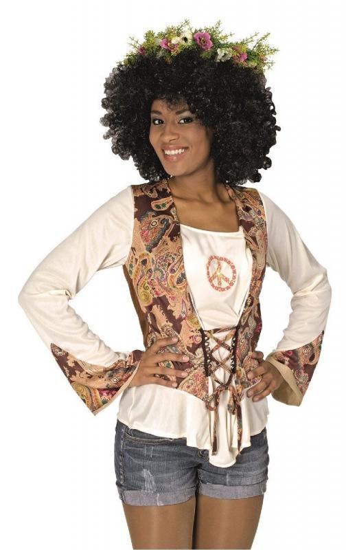 70er 80er jahre bluse kleid kost m flowerpower damen - Hippie bluse damen ...