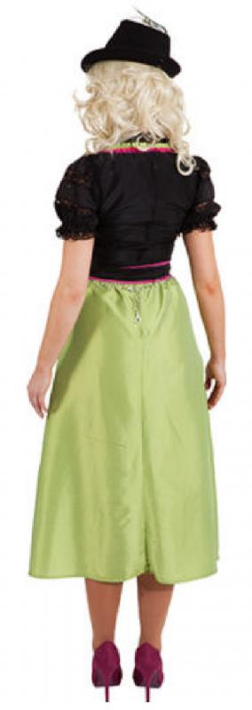 dirndel dirndl trachten oktoberfest bayern damen kleid kost m trachtenmode mode o9487 gr n. Black Bedroom Furniture Sets. Home Design Ideas