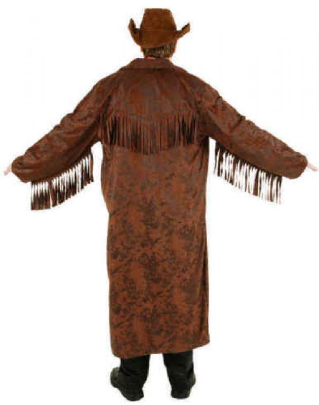cowboy wilder westen country trapper kost m mantel jacke weste hemd herren hut o7176 braun. Black Bedroom Furniture Sets. Home Design Ideas