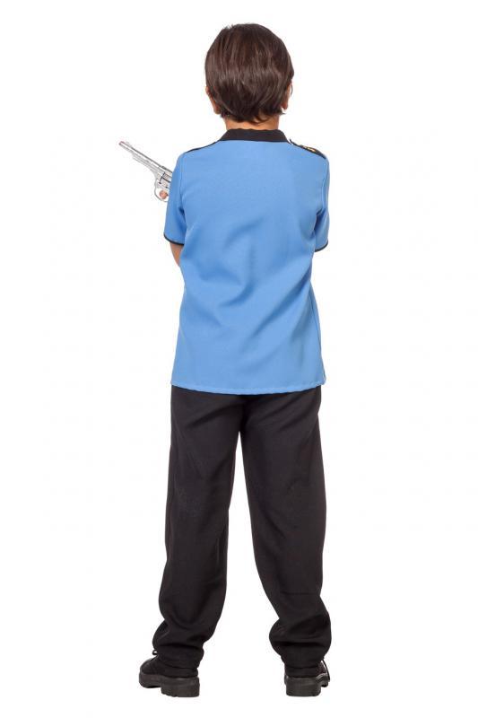 Indexbild 2 - Polizist Polizei Police Cop FBI CIA Kostüm Uniform Anzug Mütze Hut Junge Kinder