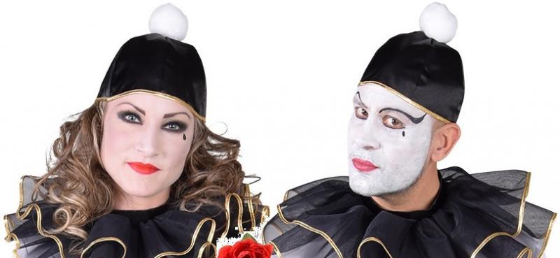 Clown Hut Kappe Melone Zylinder Kostum Zirkus Kasper Clownkostum