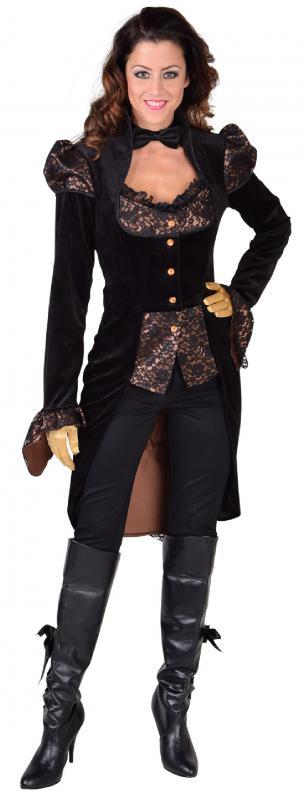viktorianisch barock rokoko kost m kleid rokokokost m steampunk anzug lord pirat m218121 schwarz. Black Bedroom Furniture Sets. Home Design Ideas