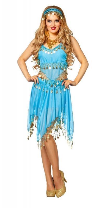 Bauchtanz Belly Dance 1001 Nacht Kleid Kostüm Bollywood Orient ...