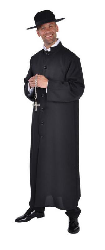 Herren Mönch Pfarrer Kostüm Mönchsrobe Mönchskutte Pater Robe oeCBWQrdx