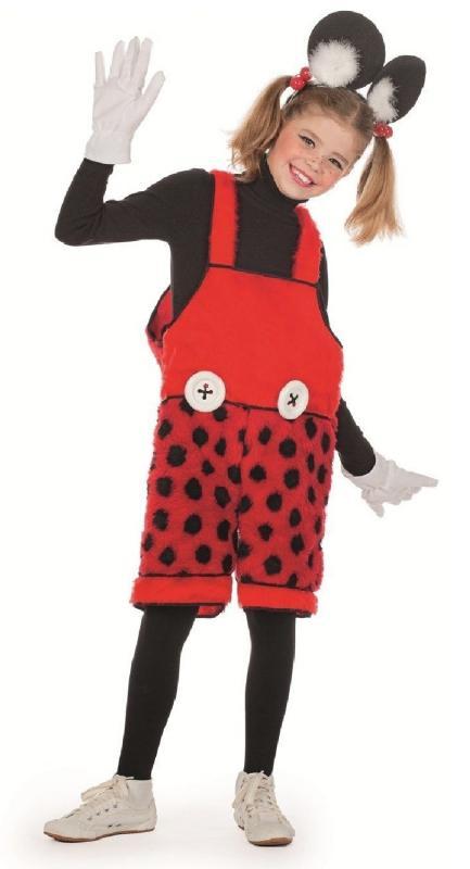 Biene Maja Marienkäfer Minnie Mouse Maus Kostüm Bienekostüm